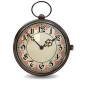 Reloj de bolsillo oxidado — Vector de stock