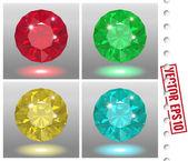 Jewels set — Stock Vector