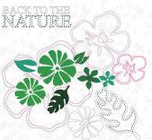 Floral pattern — 图库矢量图片