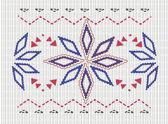 Sweater pattern — Stock Photo