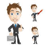 Successful businessman — Stock Vector