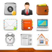 Businesss icons set 2 — Stock Vector