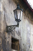 Old street lamp in old corners of Prague — ストック写真