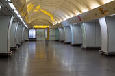 The metro station — Stockfoto