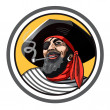 Pirate — Vector de stock #36963565