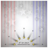 Independence Day Celebrate Background — Stock Vector
