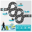 Travel And Journey Business Infographic — Stock Vector #49877403