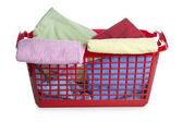 Tvättkorg — Stockfoto