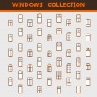 Windows collection — 图库矢量图片