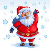 Jultomten — Stockvektor