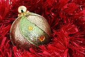 Christmas ball-Stock Image — Stock Photo