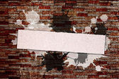 Grunge banner for your text — Stock Photo