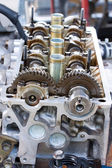Car engine - Stock Image — Stock Photo