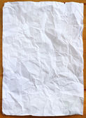 Wrinkled paper - Stock Image — Stock Photo