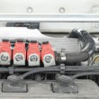 Stock Photo: LPG injector installed in gasoline engine