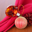 Christmas decorations with topaz ring. — Stock Photo #37085129