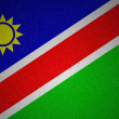 Stock Photo: Grunge flag series - Namibia