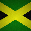 图库照片: Grunge flag series -Jamaica
