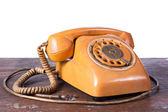 Old telephone — Stock Photo