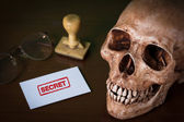 Cancel red rubber stamp — Stock Photo