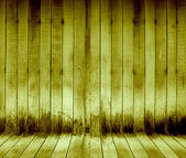 Yellow wood wall texture background — Stockfoto