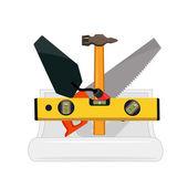 Builder tools — Stock Vector