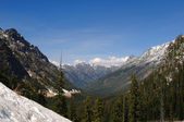 Tall mountains of the North Cascades — Foto de Stock