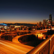 Seattle Freeways — Stock Photo