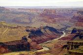 River through Grand Canyon — Foto Stock