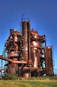 Unidad de planta de gas — Foto de Stock