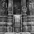 Indian temple architecture — Stock Photo