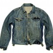 Stock Photo: Denim jacket unbuttoned