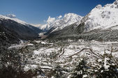 Yumthang valley in Sikkim — Stock Photo