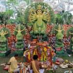 Best Durga Puja decoration winner — Stock Photo #37952083