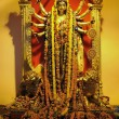 Golden Durga goddess — Stock Photo