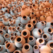Stock Photo: Earthen pots