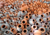 Earthen pots — Stock Photo