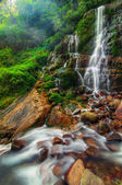 Magnificient Kanchenjunga falls — Stock Photo