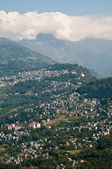 Gangtok city view — Stock Photo