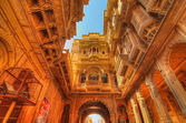 Patwon ki Haveli in Jaisalmer — Stockfoto