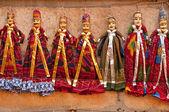 Marionetas para la venta — Foto de Stock