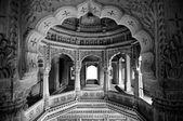 Jain temple architecture — Stock Photo