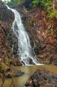 Majestic Uski Falls — Stock Photo