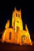 Shimla igreja à noite — Fotografia Stock