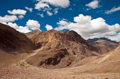 Spiti valley landscape — Stock Photo