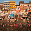 Varanasi ghats — Stock Photo #38232349