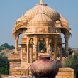 Stock Photo: Badbagh royal cenotaphs