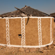 Decorated clay hut — Stock Photo #38233169