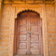 Royal ornamental door — Stock Photo