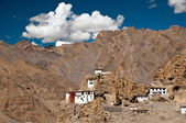 Dhankar monastery — Stock Photo